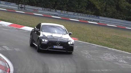 影/外傳馬力破800匹的Mercedes-AMG GT 73油電超級房車又現身了!