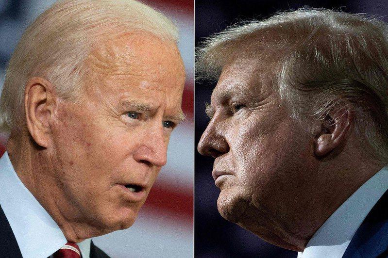 美國總統大選進入倒數階段。法新社