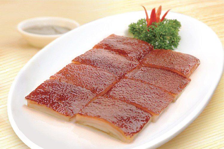 招牌必吃的「化皮乳豬」。圖/甘牌燒味提供