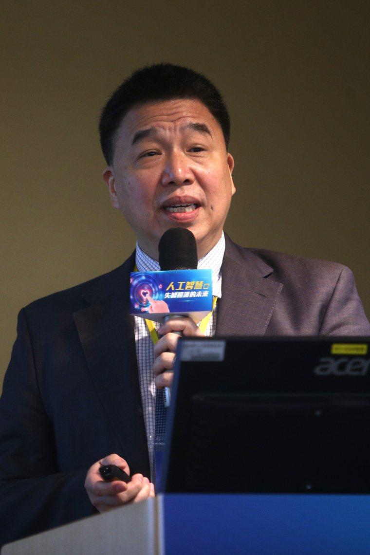 中央研究院統計科學研究所所長陳君厚博士。記者蘇健忠/攝影