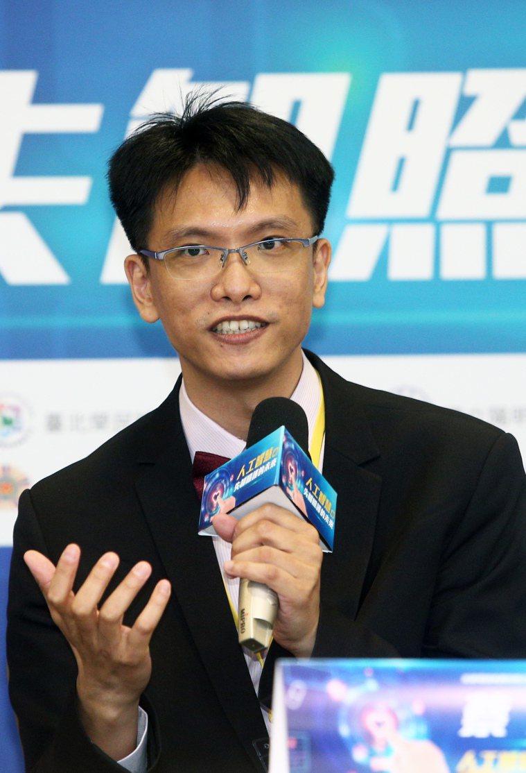 宏碁電腦集團前瞻技術總處副理蔡宗憲博士。記者蘇健忠/攝影
