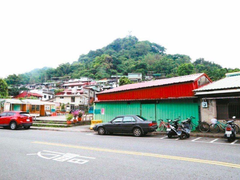 台北蟾蜍山聚落被登錄為文化景觀,這座山城眷村保留城市開發的軌跡。記者魏莨伊/攝影