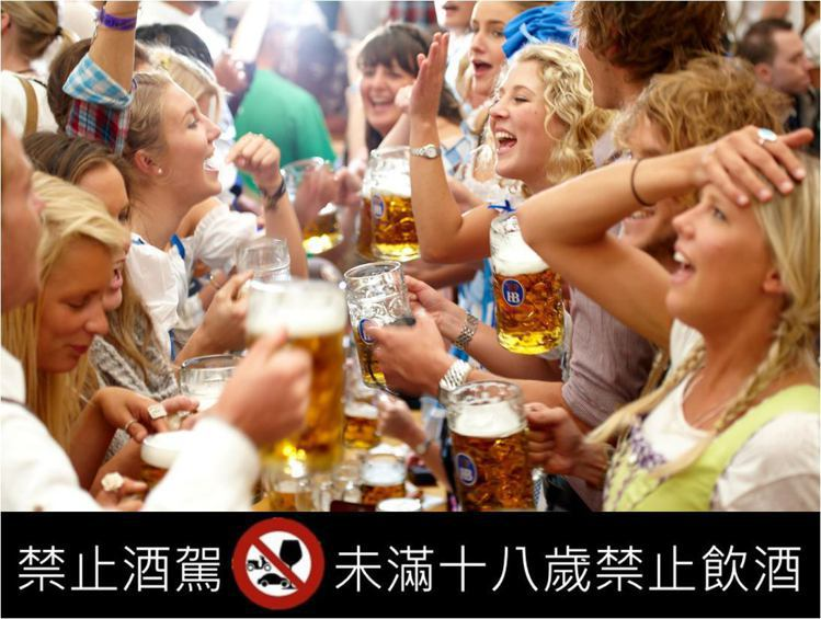 舞蹈、啤酒、巴伐利亞美食構成的啤酒節,是德國、也是全世界最具規模的飲酒活動。圖 ...
