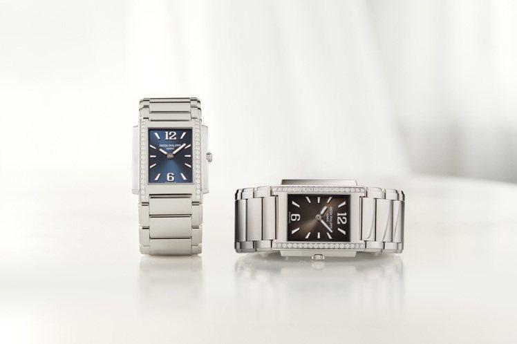 新款、共有黑、藍二色的Twenty 4系列腕表,是日常生活的質感之選。圖 / P...