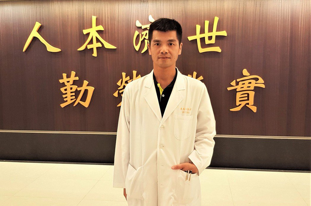 林口長庚紀念醫院眼科部主任吳為吉 圖/吳為吉提供