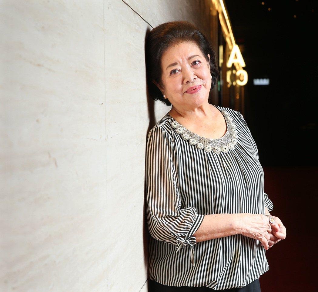 資深藝人陳淑芳今年獲得金馬獎最佳女主角、女配角提名。 記者林澔一/攝影