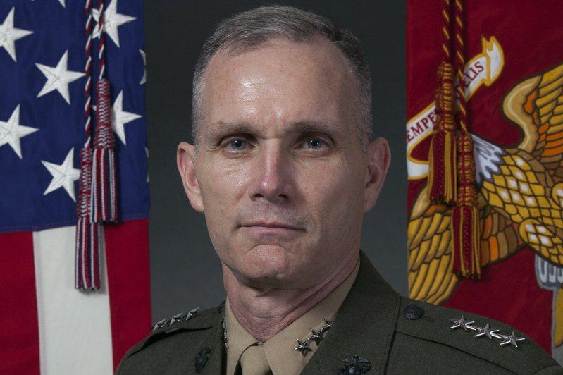 陸戰隊軍階第二高的四星上將湯瑪斯日前在五角大廈出席會議後,確診感染新冠病毒,讓外界擔心美國的國防安全遭受威脅。(美聯社)