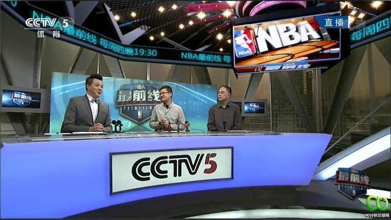 央視恢復NBA轉播。 世界日報