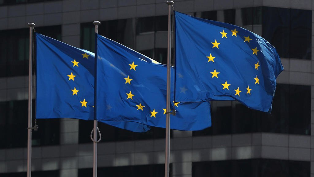 歐盟旗幟 REUTERS - Yves Herman