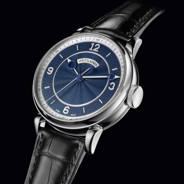 來自Voutilainen的28SC腕表,是獨立製表名家的簡約之作。圖 / 翻攝...