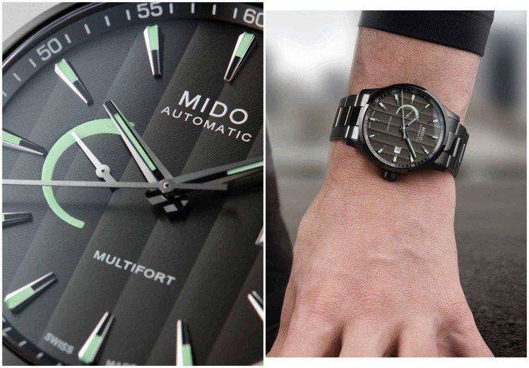 具備80小時動力儲存的Multifort腕表,適合一趟秋天的小旅行。圖 / MI...