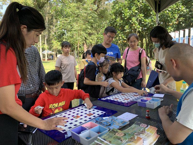 台南山上水道博物館今天上午入場遊客就逾2千人。圖/園方提供