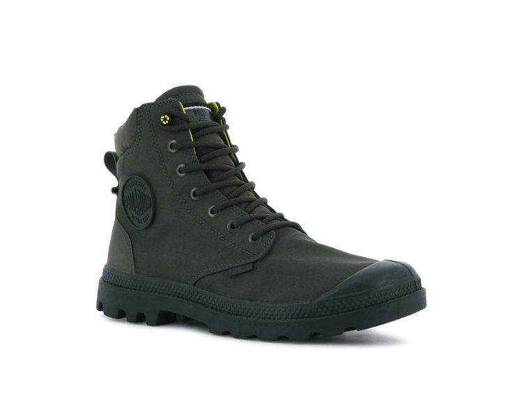 Palladium橘標防水RCYCL SC系列靴3,780元。圖/Palladi...
