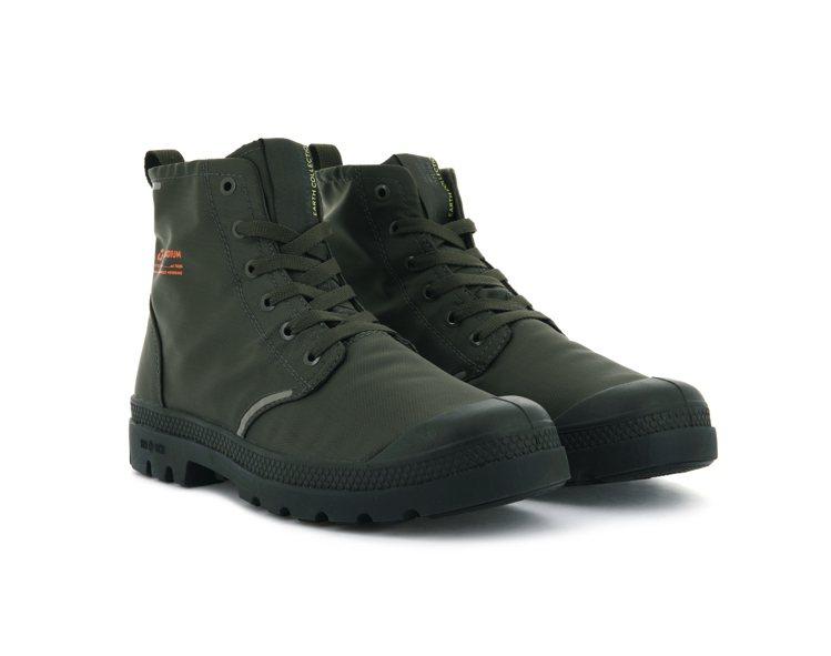 Palladium橘標防水RCYCL LITE+系列靴3,580元。圖/Pall...