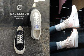 Converse顛覆All Star鞋外型、EXCELSIOR滑板鞋回歸