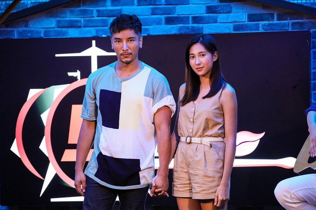 羅平(左)、楊晴在「女力報到」全新一季「最美的約定」中,平靜生活將出現變化。圖/...