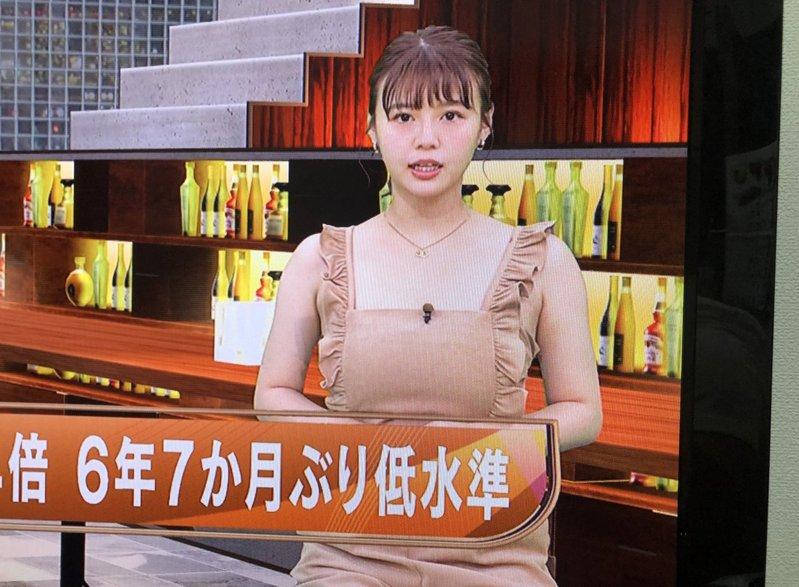 日本一名女主播因為衣服太像圍裙,被網友截圖放到推特上後引起熱議。 圖/翻攝自推特