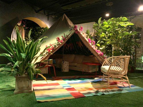 浪漫帳篷、香草水煙還有茶飲調酒!打卡系餐酒館「Chill Play」進駐台中七期
