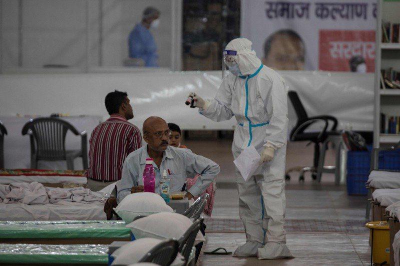 印度疫情爆發。 圖/美聯社