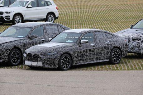 2022 BMW 4-Series Gran Coupe偽裝捕獲 會有M版本嗎?