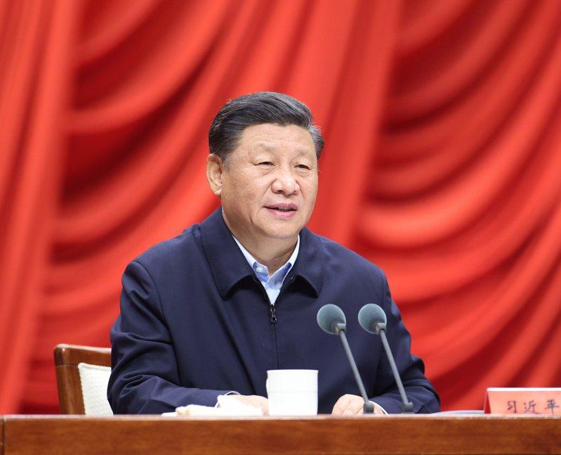 中共中央總書記、國家主席、中央軍委主席習近平。 新華社