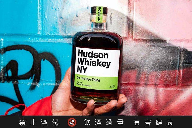 Hudson Whiskey的「Do the Rye Thing」。圖/摘自Hudson Whiskey官網。提醒您:禁止酒駕 飲酒過量有礙健康。
