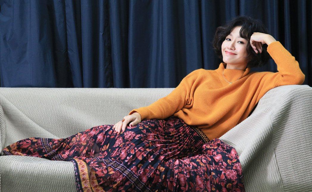 林意箴剛滿30歲坦言很焦慮。記者潘俊宏/攝影