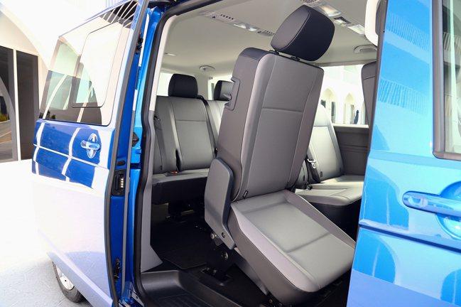 福斯商旅T6.1 Caravelle具備多種座位布局可選,最多可承載9名成員(包...