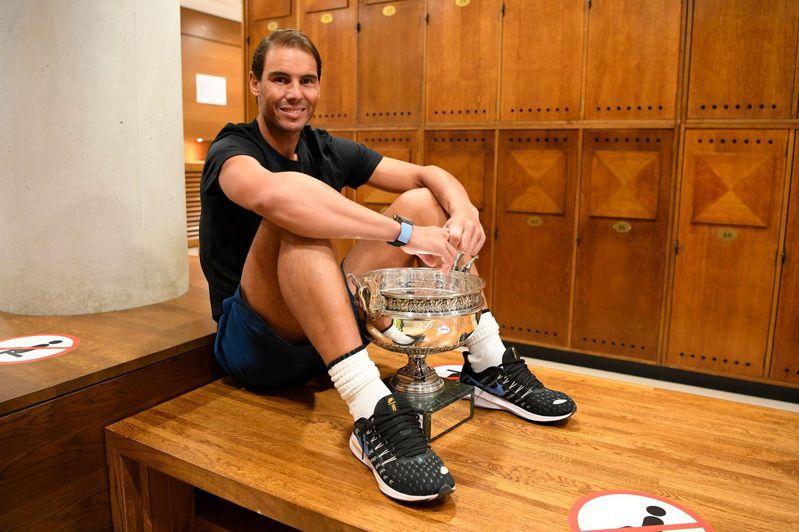 納達爾奪下第20座大滿貫賽冠軍。 法新社