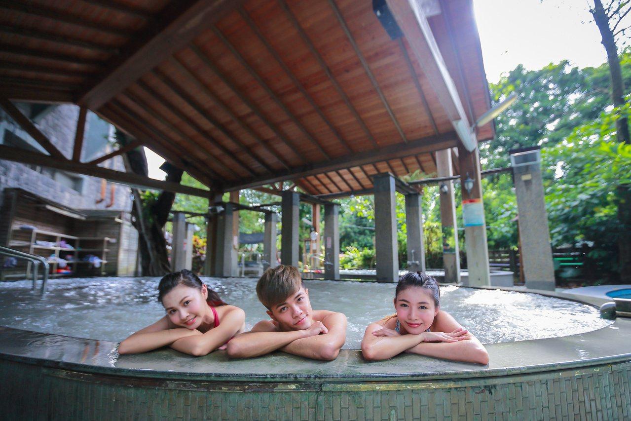 台南關子嶺泥漿溫泉是全台唯一的黑色溫泉。 圖/觀旅局提供