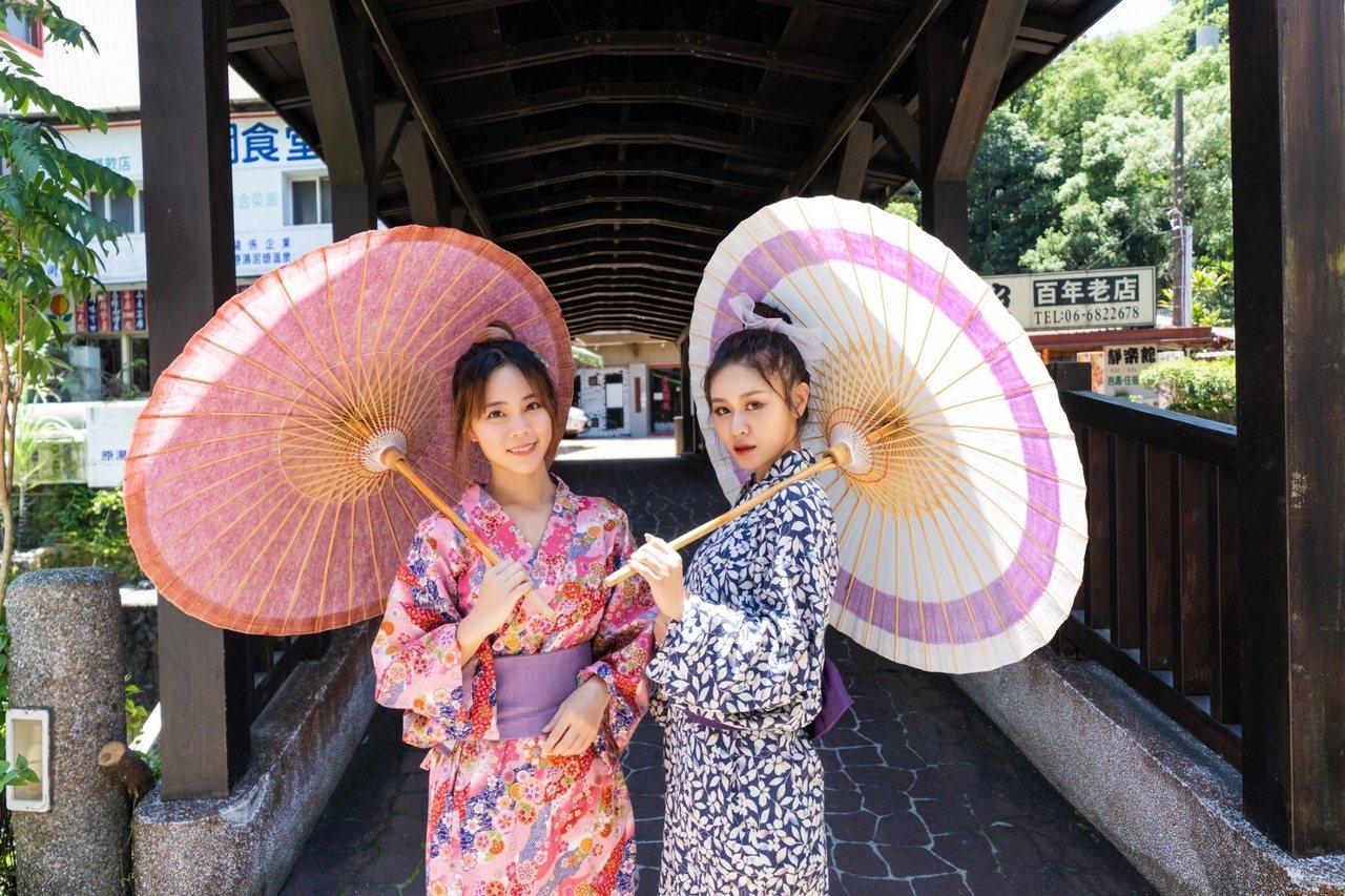 台南關子嶺溫泉區日治時期就已開闢,有濃濃的日本風情。 圖/觀旅局提供