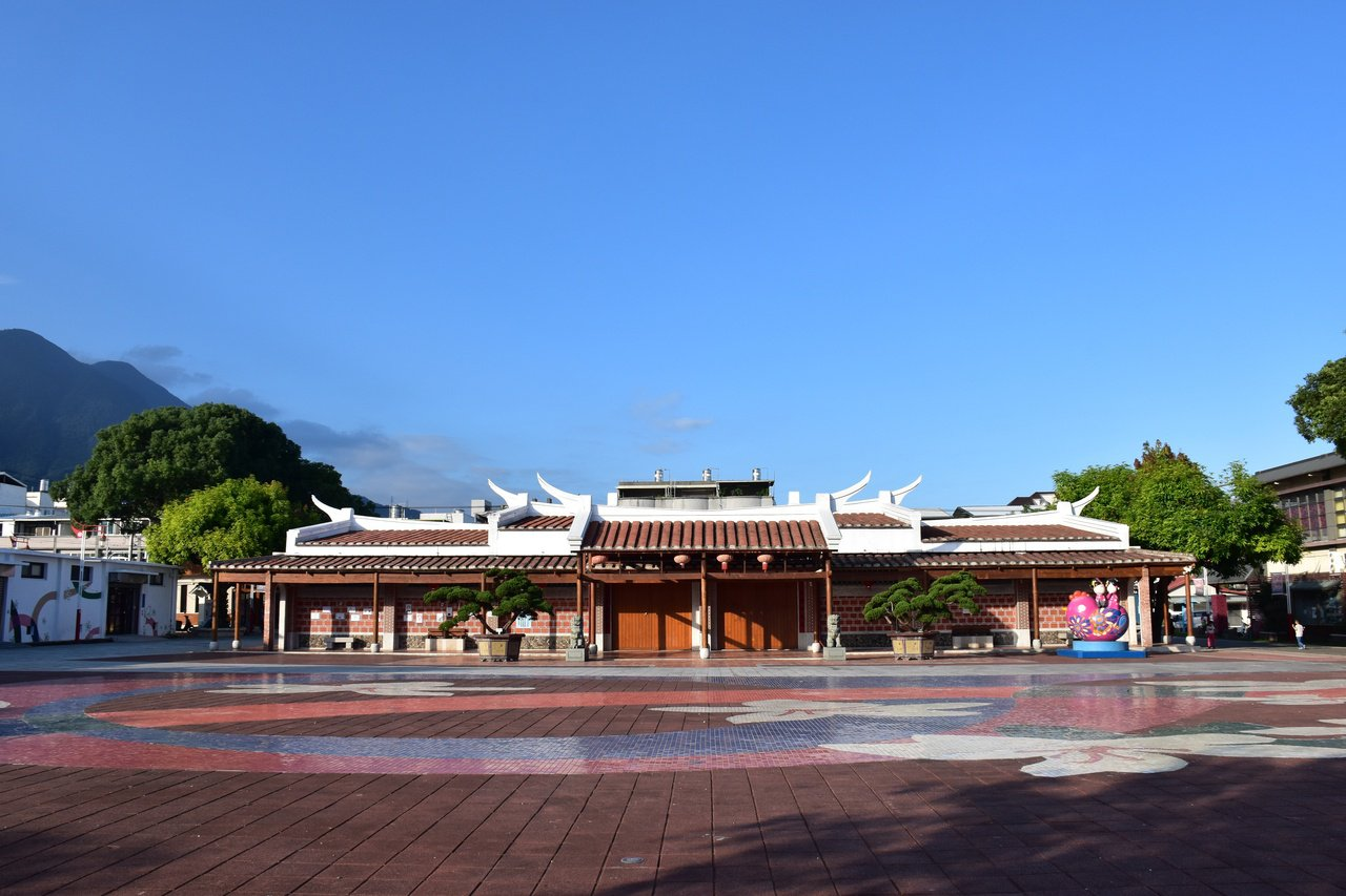 吉安好客藝術村,原是花蓮第一座神社,後成為新的展演空間。 圖/王思慧 攝影