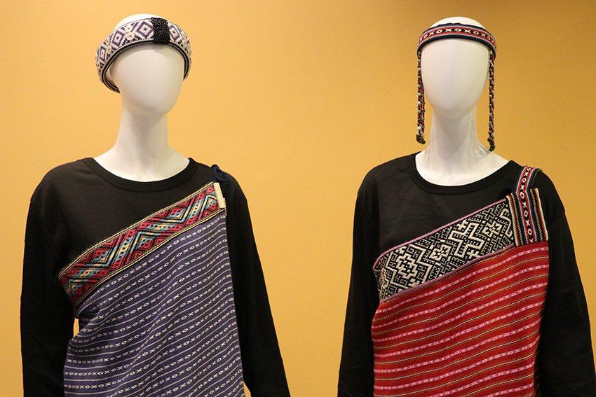 XO織紋為烏來屈尺群泰雅特色,象徵團結。 十三行博物館/提供