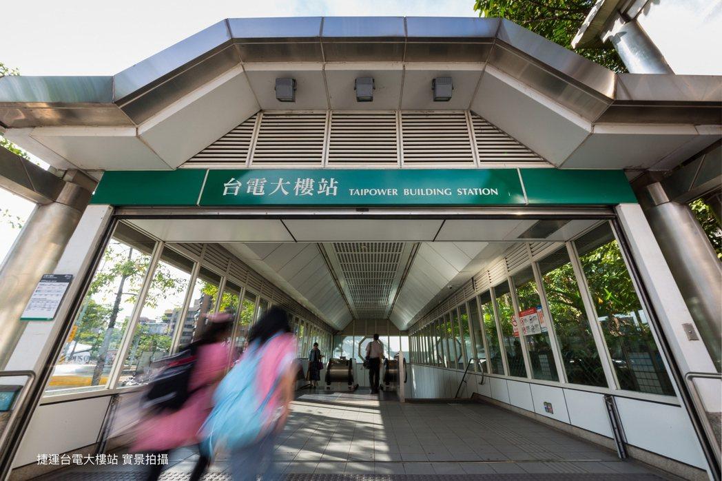 大安MONEY僅需步行30秒,即能抵達捷運台電大樓站。 業者/提供