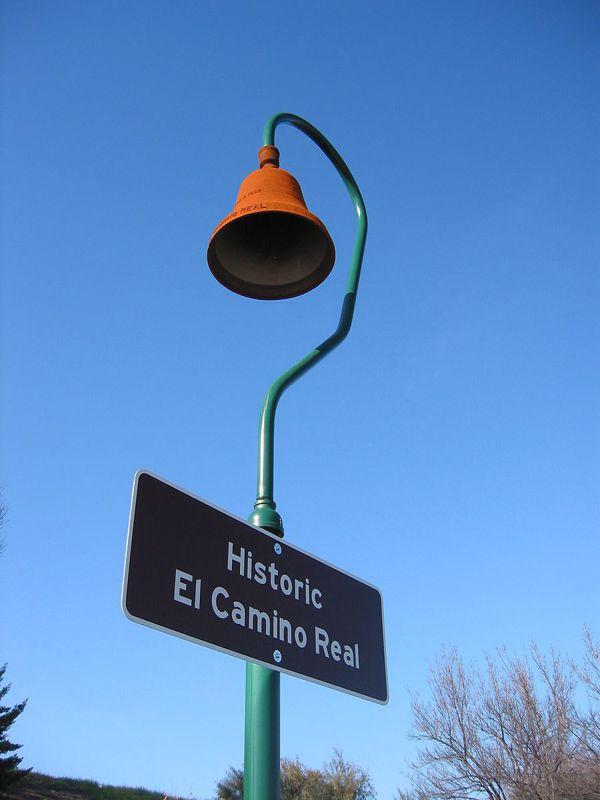 已成為歷史標記的拐杖鐘(圖片取自Wikipedia)