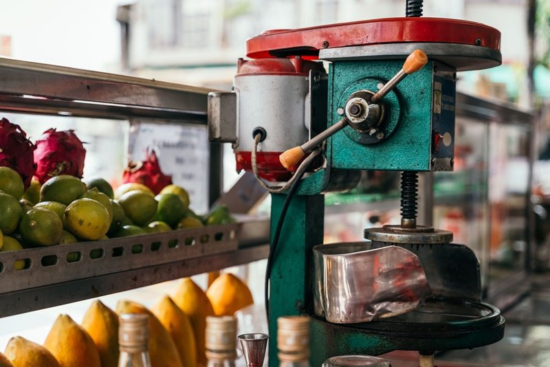 位於斗南老字號的「林松雪冰果室」。 攝影/Ray