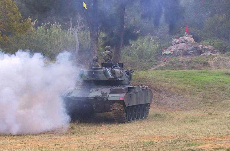 國防部目前已完成烈嶼戰車換裝規畫,包括M41D戰車等應急選項。 圖/聯合報系資料照片