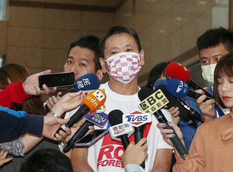 立委林為洲拋出國民黨去中國的重磅議題。 記者曾原信/攝影