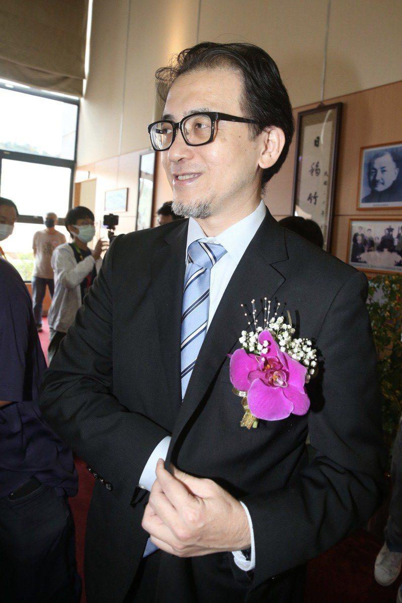 考試院秘書長劉建忻。本報資料照