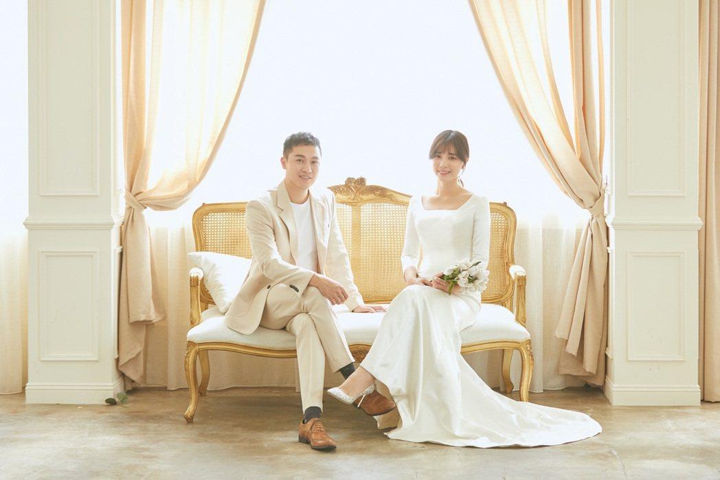虞承璇宣布結婚,對象是華航機師。圖/虞承璇提供