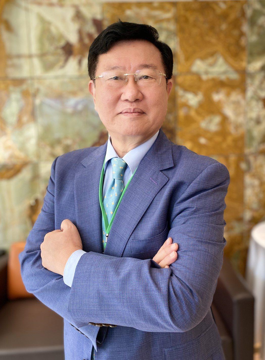 車王電子董事長蔡裕慶當選電動綠能協會首任理事長。記者宋健生/攝影