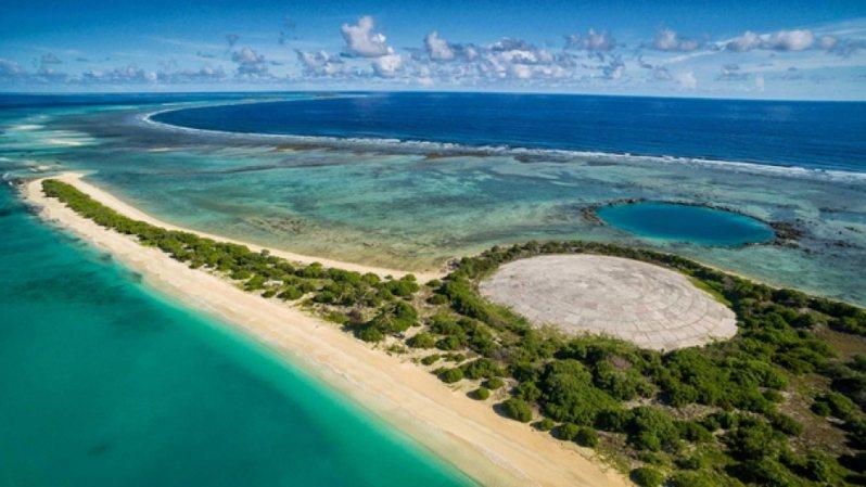馬紹爾群島的魯尼圓頂(Runit Dome)是掩埋大量核廢料的水泥墳墓,包括美國核子試爆遺留下來的鈽-239。圖/取自責任投資原則組織