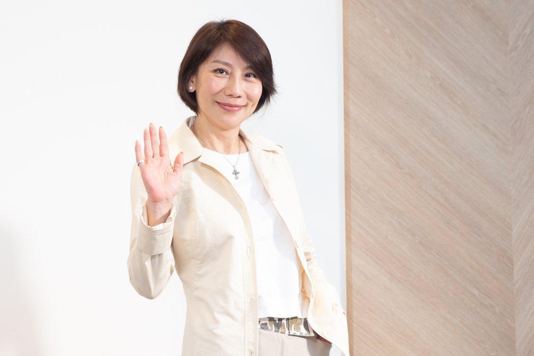 郎祖筠在「因為我喜歡你」中是個「虎媽」。記者季相儒/攝影