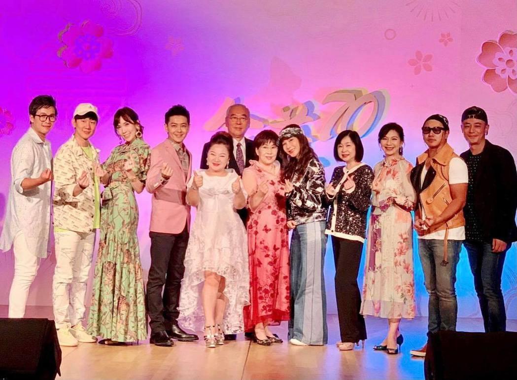 林志穎為媽媽舉辦壽宴,大咖雲集。圖/摘自臉書