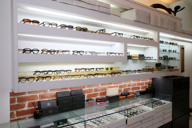 Hotice見證台灣市場對日本手工眼鏡熱愛的傳奇一頁。記者邱德祥/攝影