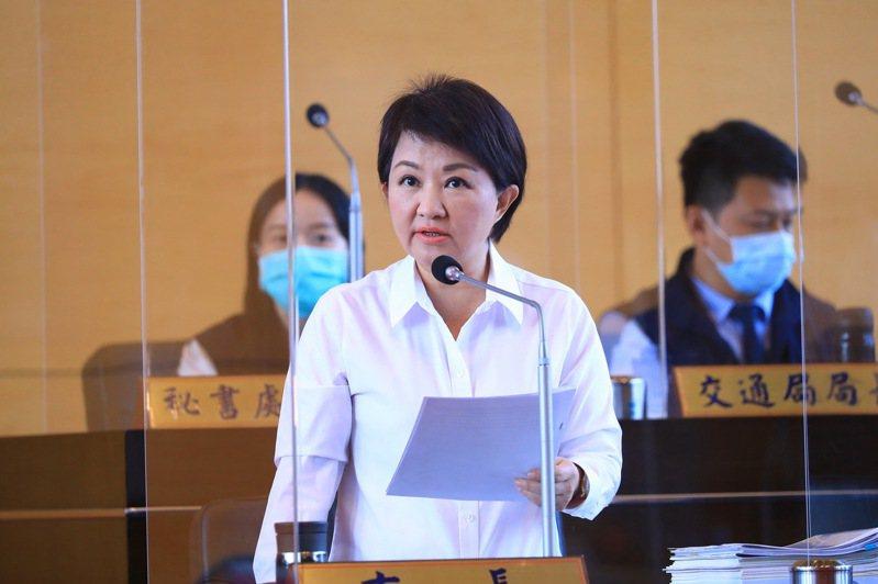台中市長盧秀燕表示,水湳會展中心雖是前市府發包,但市政一棒接一棒,完不了工的她會努力完成。圖/聯合報系資料照片