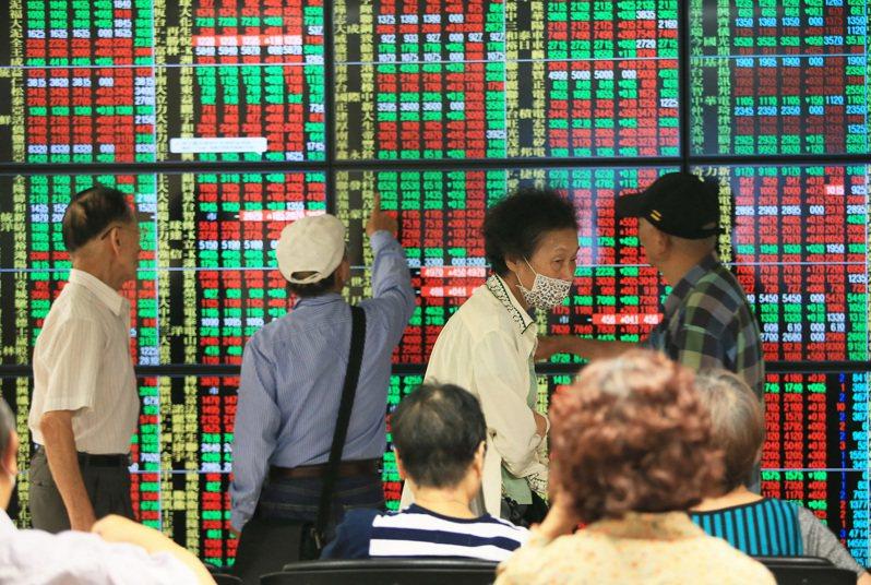 台股14日終場下跌27.82點,收在12,919.31點。(聯合報系資料照)