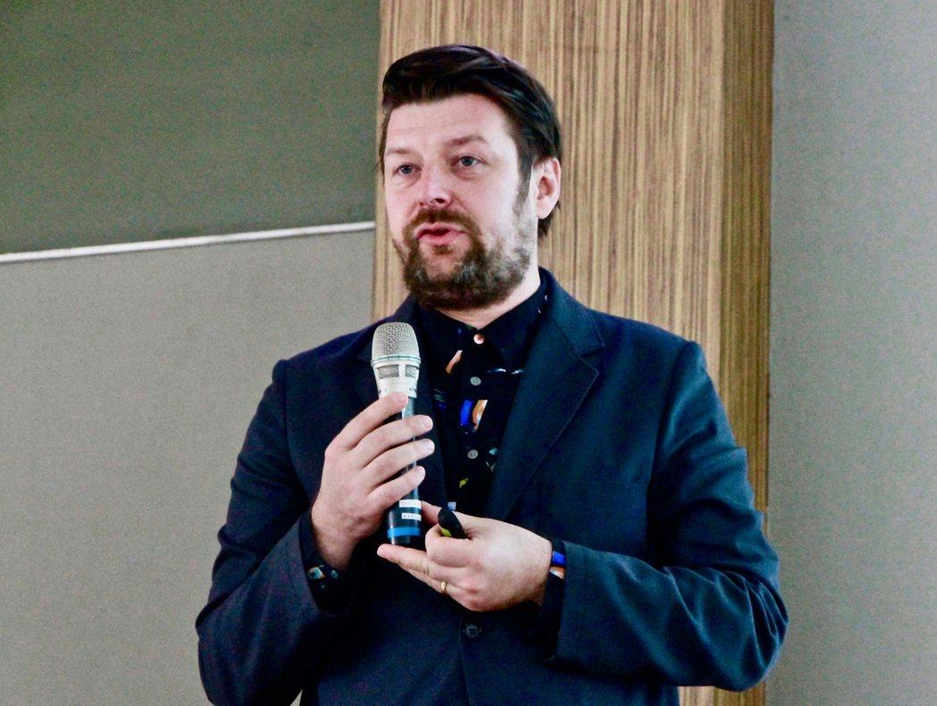 英國永續餐飲協會SRA執行長Andrew Stephen。 圖/林怡均攝影