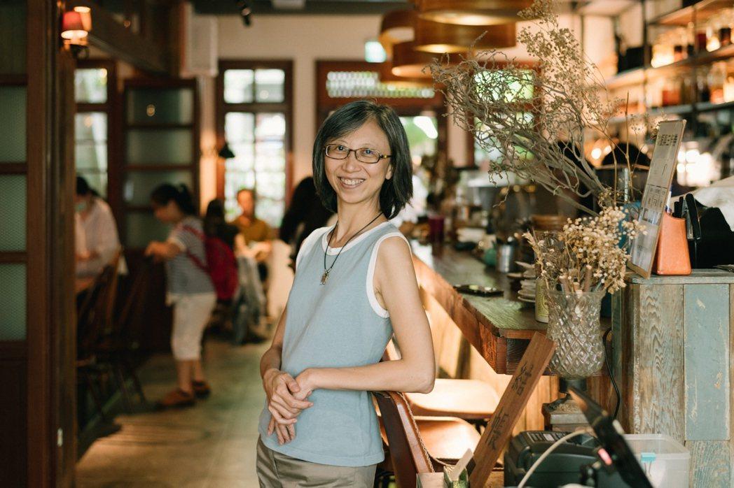 綠色餐飲指南的南部召集人張維真。 圖/林美慧提供