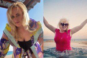 原本體重破百!「肥艾美」度假曬泳裝照,十個月瘋狂鏟肉44公斤